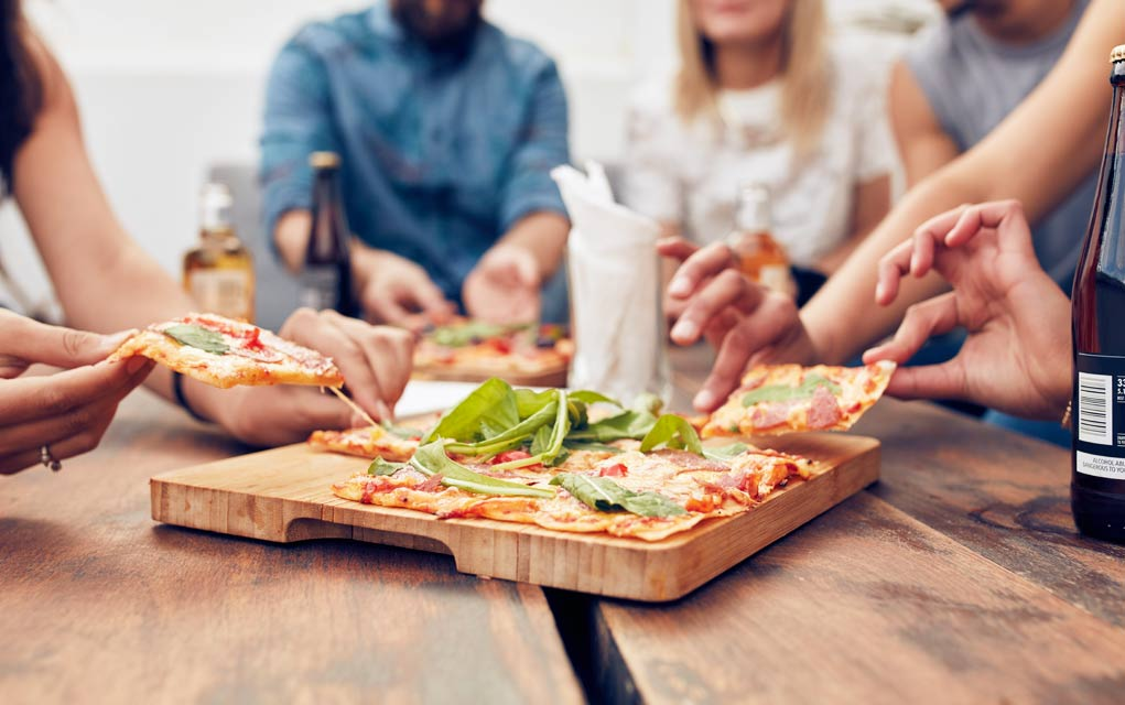 How long do you have to exercise to burn off a slice of pizza?